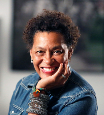 A photo of Carrie Mae Weems
