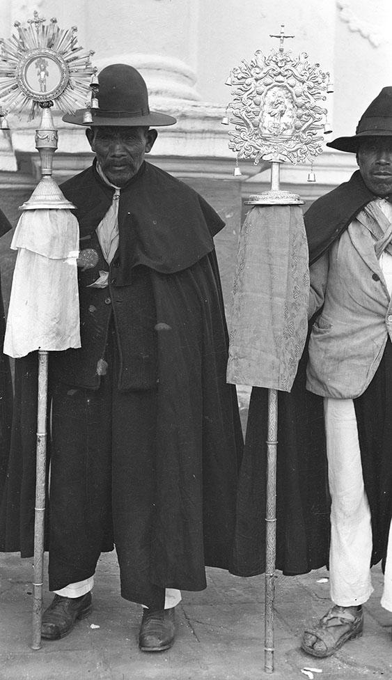 Men in Church Procession