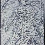 Cosmographia's 1588 illustration of Europe