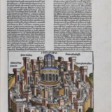 Jerusalem from Liber chronicarum, or the Nuremberg Chronicle