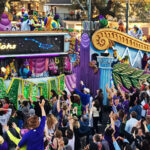 Krewe of Endymion Mardi Gras parade in New Orleans, 2017