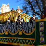 Zulu Social Aid and Pleasure Club parade in New Orleans, February 9, 2016