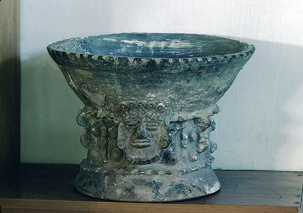 Ceramic incensario