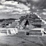 Structure 1 during restoration