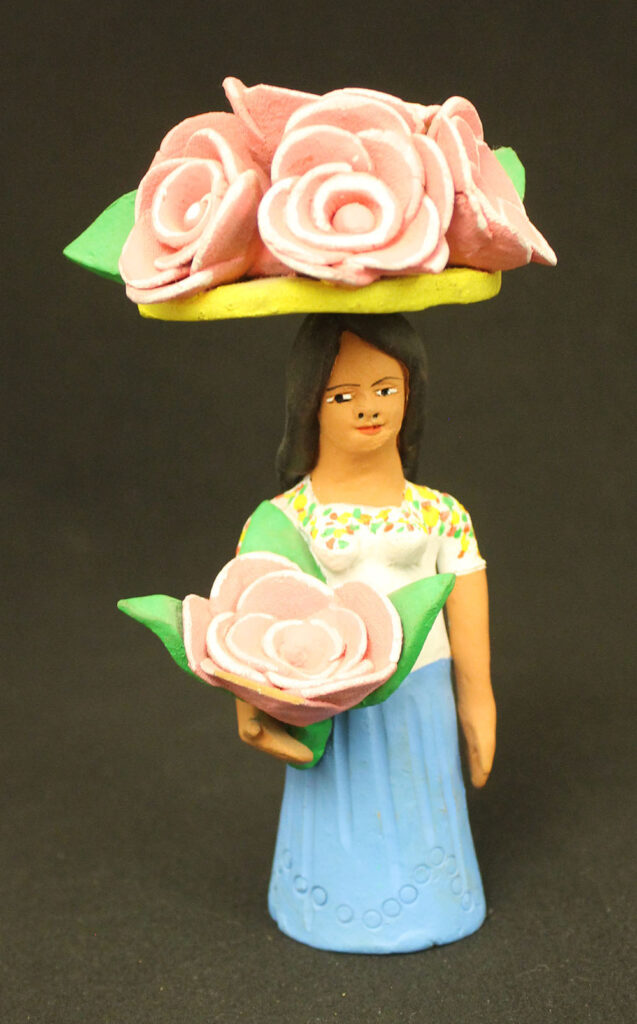 Woman with flowers part 1