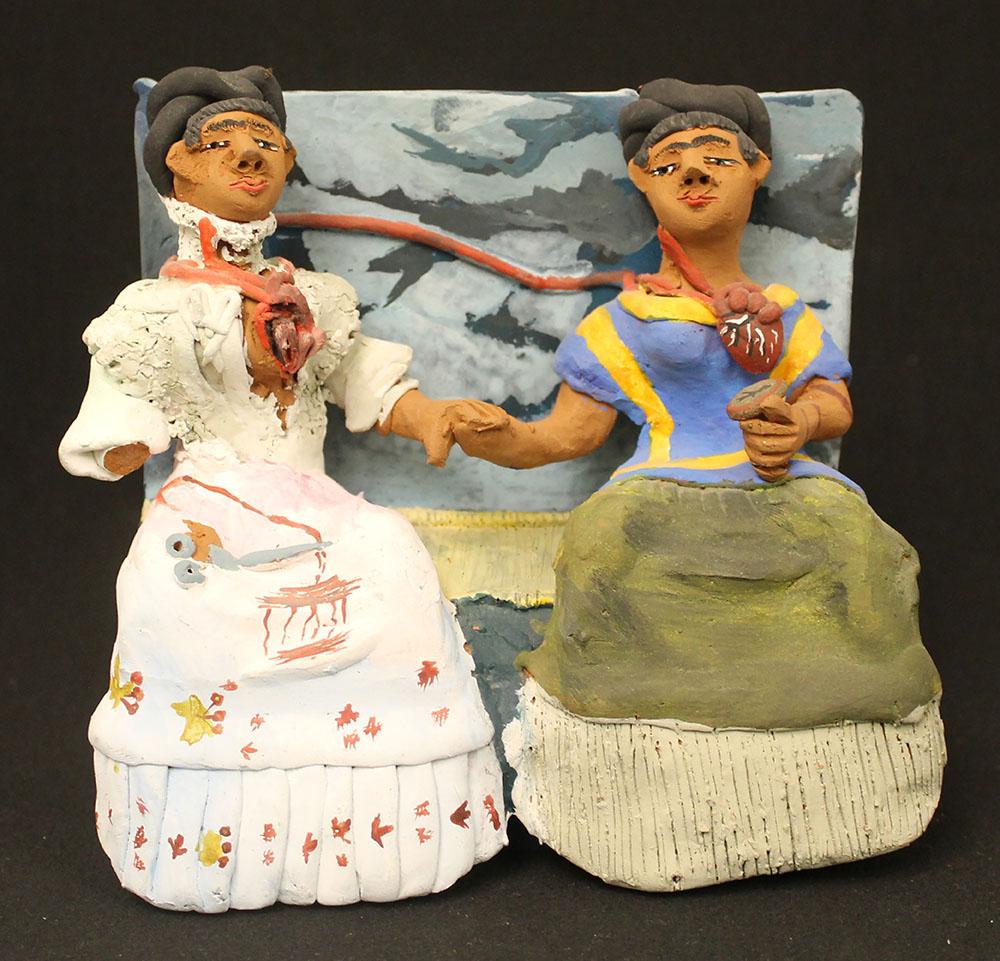 """Frida Kahlo's """"The Two Fridas"""" (1939)"""